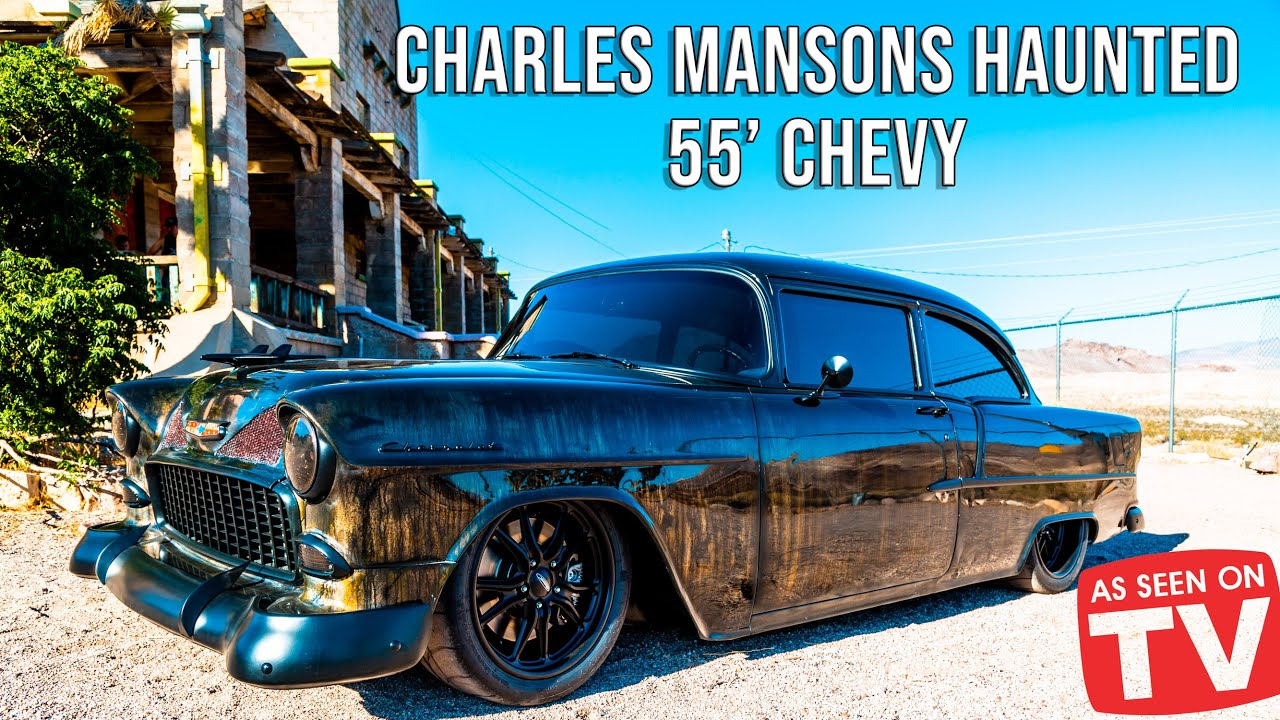 Download HAUNTED ROD | Supercharged CTSV 55' Chevy was found on Charles Manson's Ranch - Its actually haunted