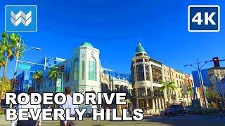 Walking tour around Rodeo Drive in Beverly Hills, California 【4K】 thumbnail