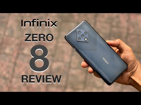 Infinix Zero 8 Unboxing and Review