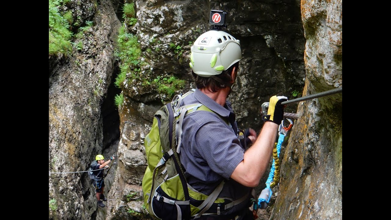 Postalm Klettersteig F Variante : Die schwersten klettersteige der welt