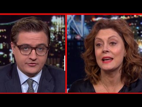 Susan Sarandon and Josh Fox Take On MSNBC's Chris Hayes