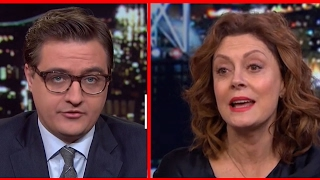 Susan Sarandon and Josh Fox Take On MSNBC