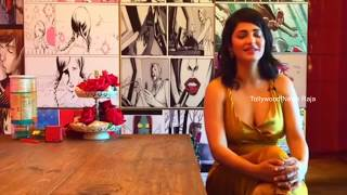 Oops Moments:Shruti Hassan Wardrobe Malfunction |Dress Slip in Live Facebook  Interview