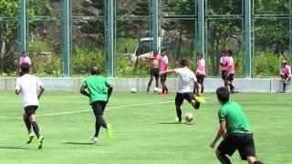 夢想駿其vs公民(2015.8.1.香港足球季前熱身賽)之入球1:1