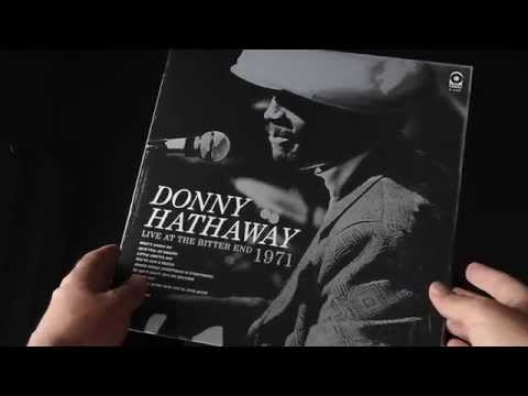 """EXCLUSIVE UNBOXING : Donny HATHAWAY """"Live At The Bitter End 1971"""" RECORD STORE DAY 2014"""