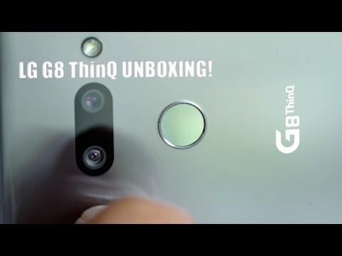 LG G8 UNBOXING!