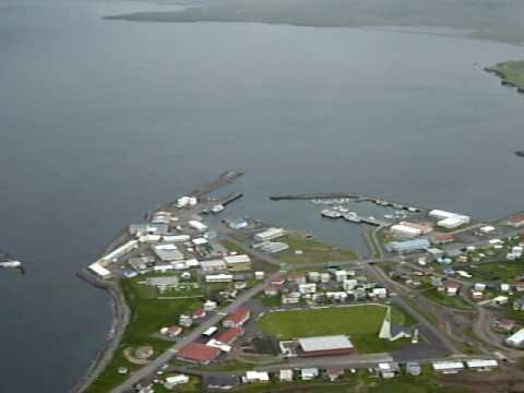 Ólafsvík from above, Iceland