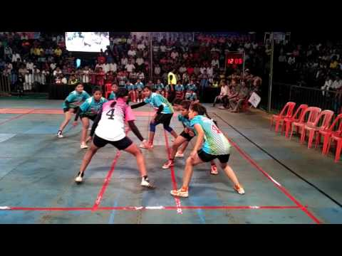 Royal Angels V/s Ice Divas - Navi Mumbai Kabaddi League (Match no - 15)