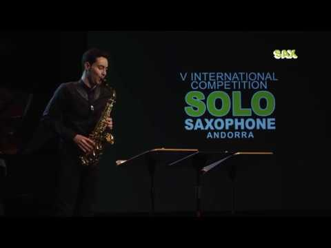 JESÚS RENESES QUINTERO - 2nd ROUND - V ANDORRA INTERNATIONAL SAXOPHONE COMPETITION 2018