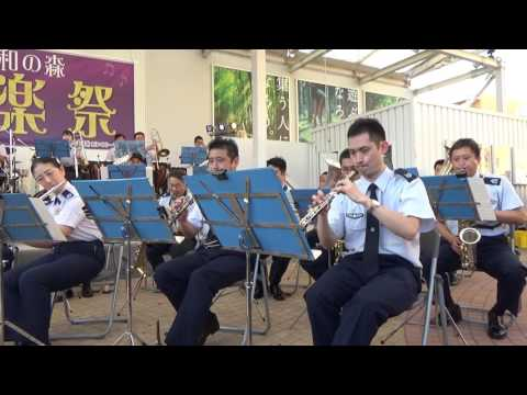 """You Can't Stop the Beat"" from ""Hairspray"" - Japanese Air Force Band"