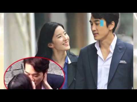 Crystal Liu Song Seung Heon night affair with the car back to the mansion suspected exposure