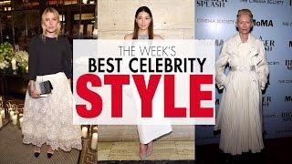 Dree Hemingway, Jessica Biel, Tilda Swinton and more in the week's best celebrity style