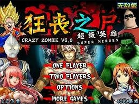 Crazy Zombie 9 Hero Mode full Gameplay (All Characters)
