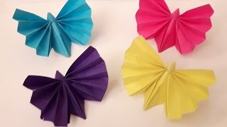 How to make a Paper butterfly? (easy origami)
