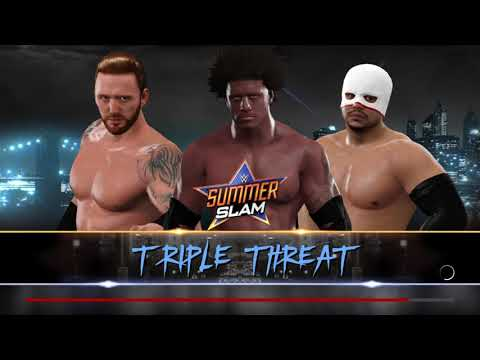 WWE 2k17 my LAX Debut