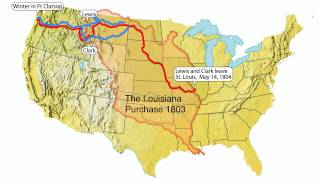 Lewis and Clark- animated map