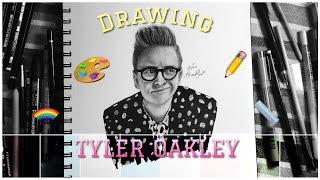 DRAWING: Tyler Oakley [ TIME-LAPSE ]