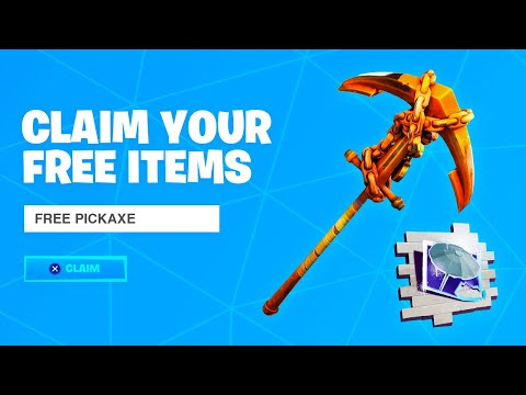 COLLECT THE FREE PICKAXE PRIZE In Fortnite! (How To Get Free Pickaxe)