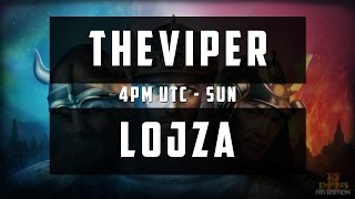 TEC - TheViper vs Lojza Game 1-4 [Full Stream]