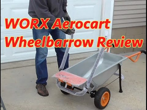 Worx Aerocart 8 In 1 Wheelbarrow Review