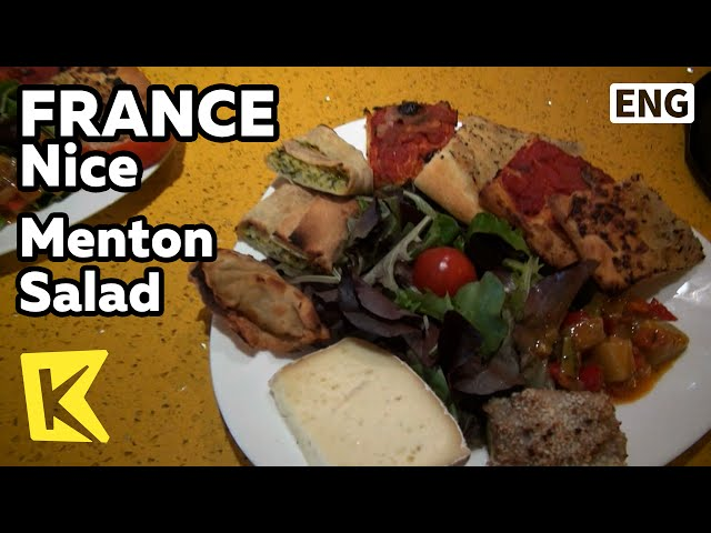 ?K?France Travel-Nice[??? ??-??]???? ?? ?? ???/Menton Salad/Local Food/Socca