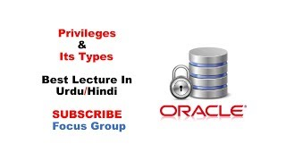 Privileges & It's Types | System & Object Privileges | Oracle Database | Lecture in Urdu/Hindi