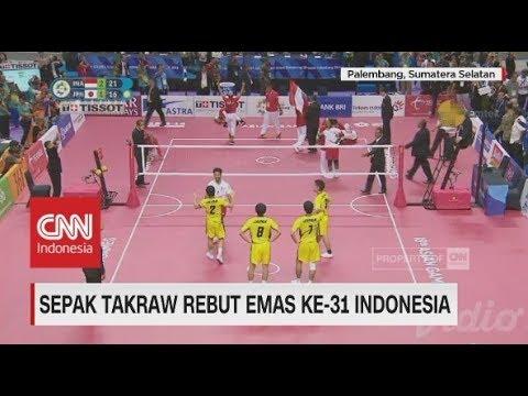 Berhasil! Sepak Takraw Sumbang Emas Ke-31 Indonesia | Asian Games 2018