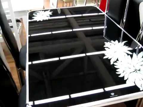 www.ctol.com.ua - Стеклянный стол (С366)