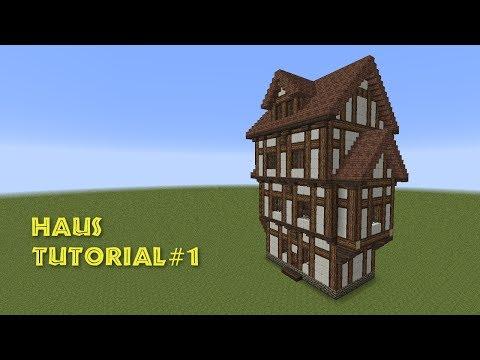 Minecraft Tutorial Fachwerkhaus Wohnhaus Build A Half - Minecraft gutes haus bauen anleitung
