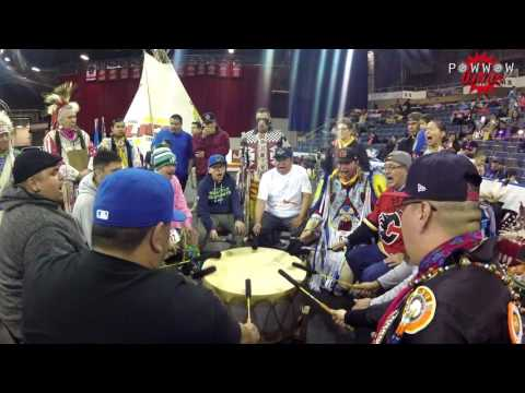 Blackfoot Confederacy Singers @ International Peace Powwow 2017