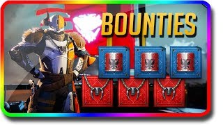 Destiny 2 - What Do Bounties Give You? Are Bounties Worth It? (Destiny 2 Bounty Guide)