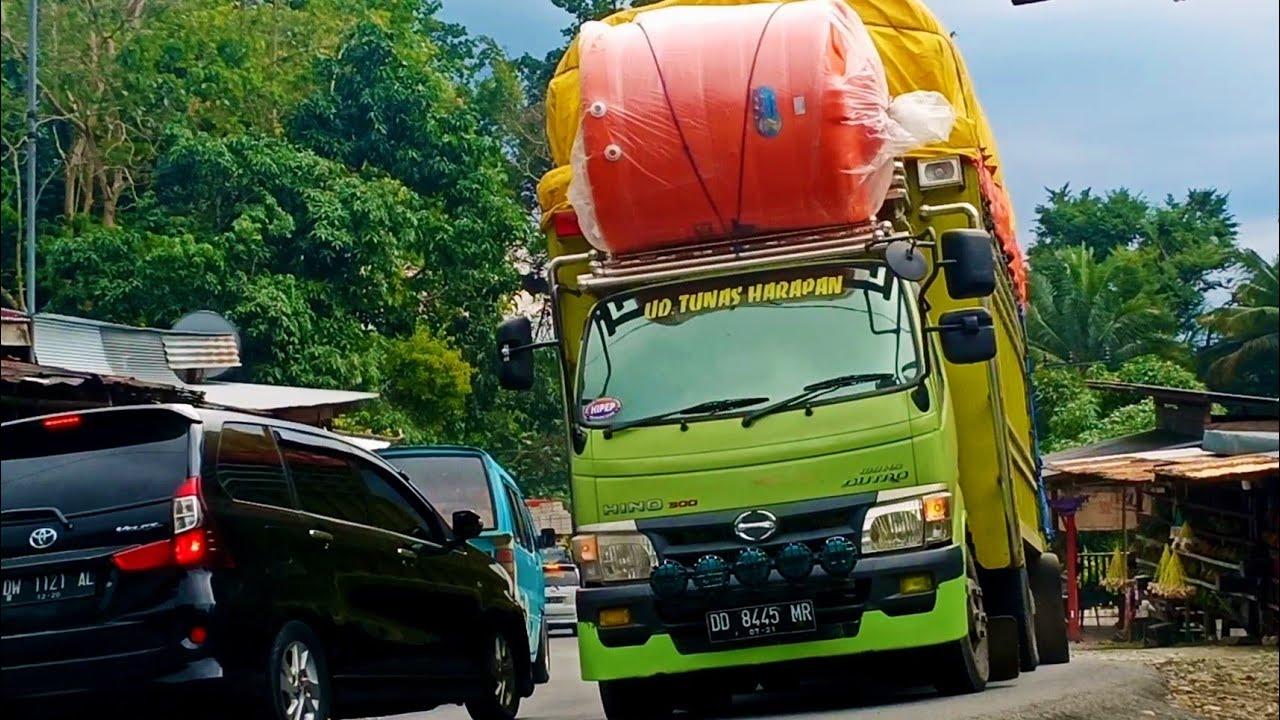 Pemburu Dollar Truck Video!!!Expedisi lintas Sulawesi