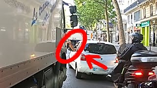 GROS CAMION VS PETITE VOITURE