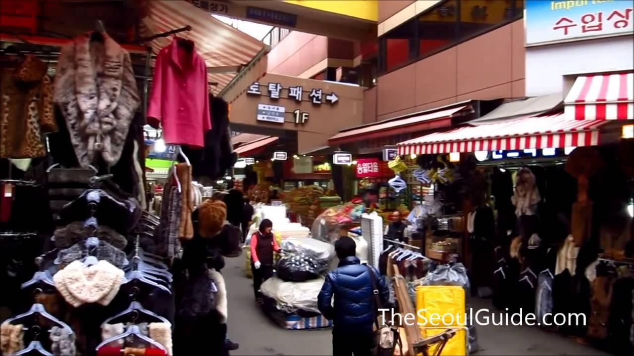 8d340ee569620 Walking through the bustling Namdaemun Market in Seoul, South Korea ...