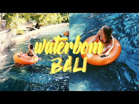 DAY AT THE #1 BEST WATERPARK IN ASIA! | Bali Part Two
