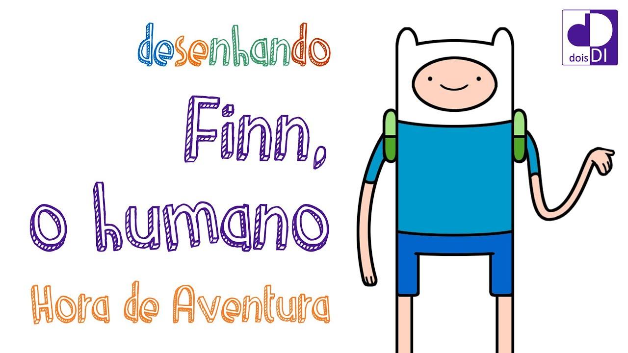 Papercraft Desenhando Finn (Hora de Aventura)