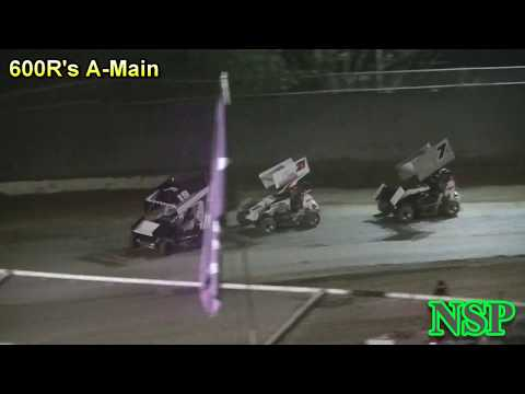 July 20, 2018 600 Restricted Mini Sprints A-Main Deming Speedway