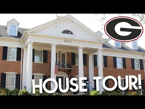 SORORITY HOUSE TOUR // Kappa Kappa Gamma at the University of Georgia | Lottie Smalley
