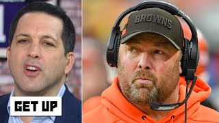 Browns coaches get 'chewed up and spit out,' nobody will succeed! - Adam Schefter | Get Up
