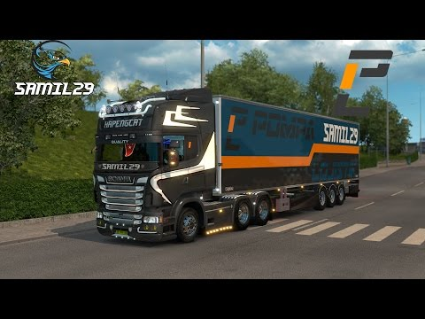 Euro Truck Simulator Pompa Lojistik Gururla Sunar :D