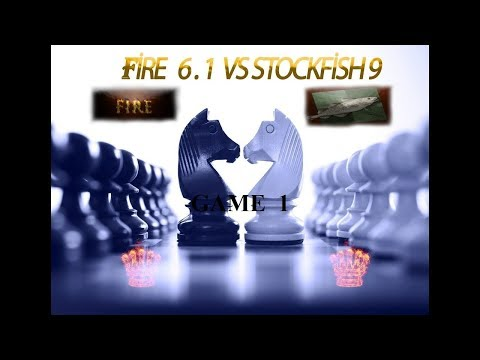 Battle of above 3200 ELO!! :  Fire6.1 ( 3297) vs  Stockfish 9 ( 3443) game1