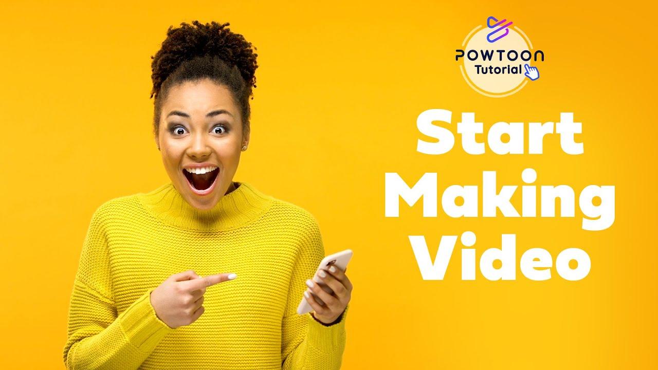 How to make video online in the Powtoon Studio   Powtoon Tutorial