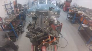 Mercruiser 350 engine separation - PersSpeedshop