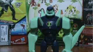 Toy Review: Ben10 Ultimate Alien Diamondhead V.2