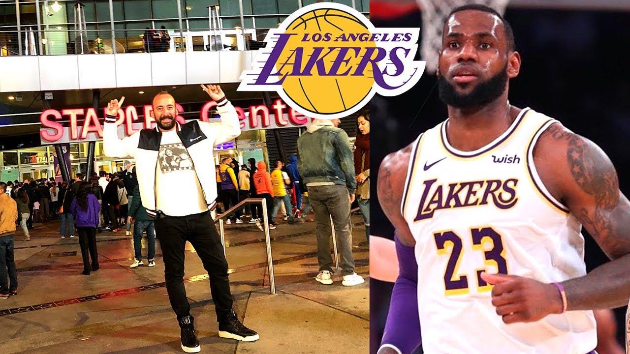Amerika'da NBA Maçı: Los Angeles Lakers vs Memphis Grizzlies