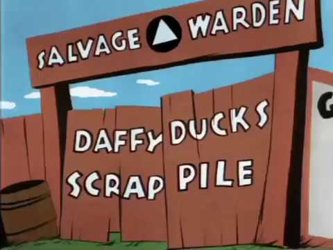 Scrap Happy Daffy (1943) - More scenes from the 1995 Computer Colorized Version