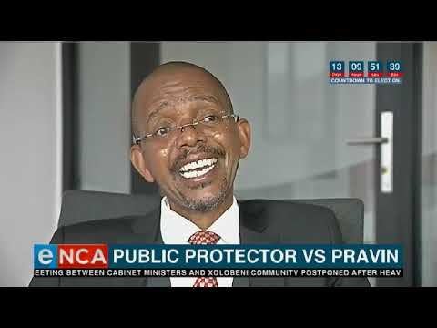 The public protector takes on Pravin