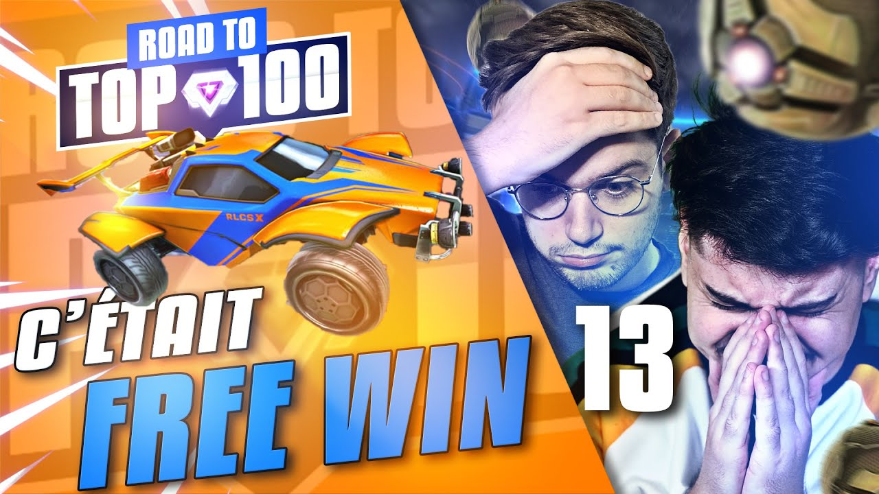 COMMENT ON A FAIT POUR PERDRE CETTE GAME ? ft @D7.  | ROAD TO TOP 100 2V2 | S1E13 (ROCKET LEAGUE FR)