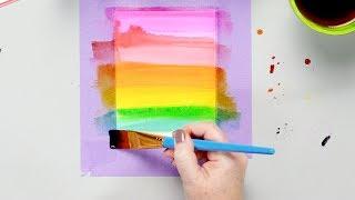 Liquid Watercolor Techniques with Lea Lawson - Pink Fresh Studio