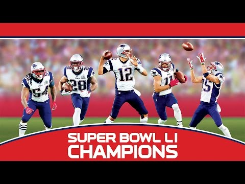 Super Bowl LI: New England Patriots Championship Commemorative DVD Trailer